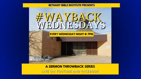 """#WayBackWednesdays Ep 4: """"Upside Down Faith, Pt. 2: Stage Fright"""""""
