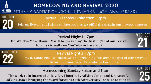 Homecoming and Revival 2020