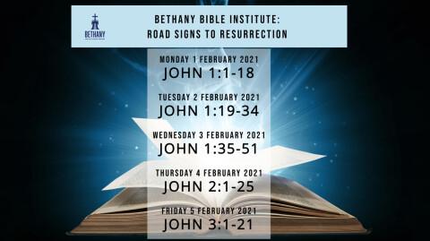 "Lenten Bible Study: ""Road Signs to Resurrection"""