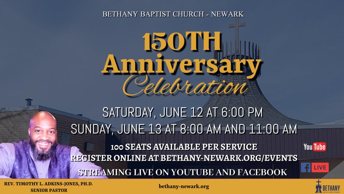 150th Anniversary Saturday Worship, June 12, 2021- 6:00pm